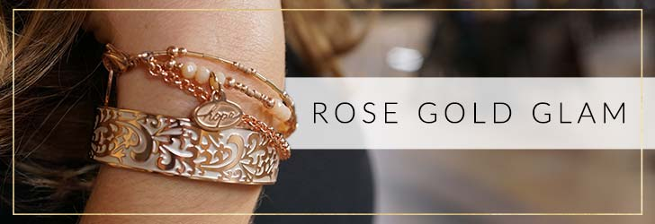 Rose Gold Glam | Rose Gold Medical ID Jewelry