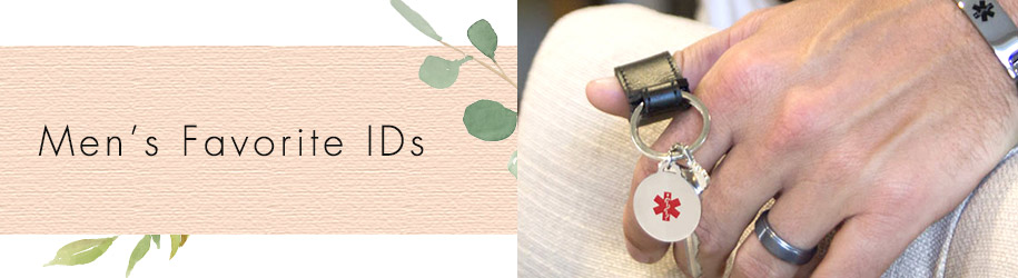 Men's Favorite IDs | Medical ID Gift Guides