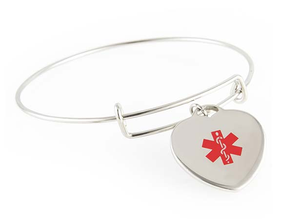 Medical ID Charms for Women