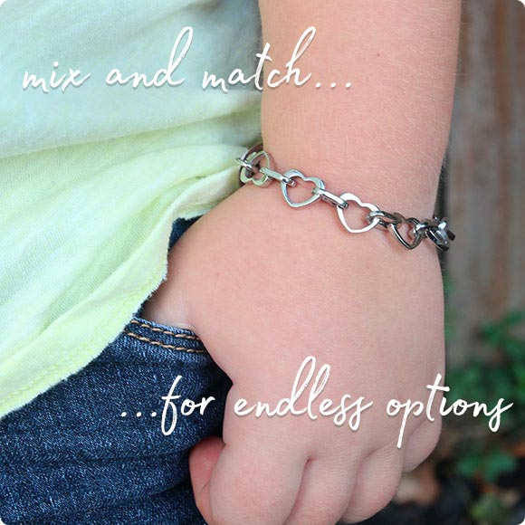 Interchangeable Medical ID Bracelets for Girls
