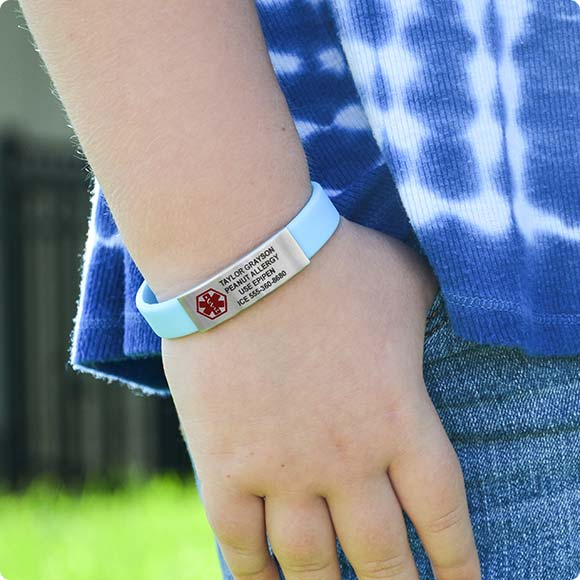 Girls Medical Id Alert Jewelry
