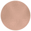 Rose gold metallic circle