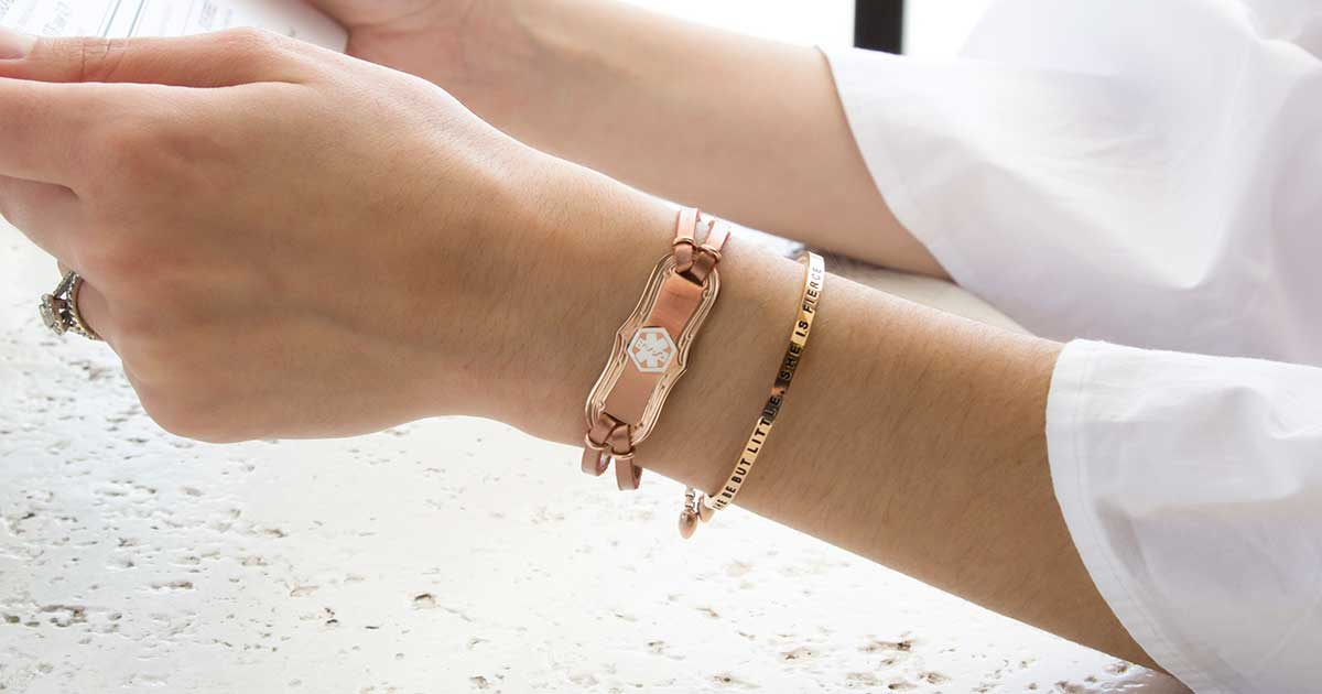 Celiac Disease Medical ID Jewelry