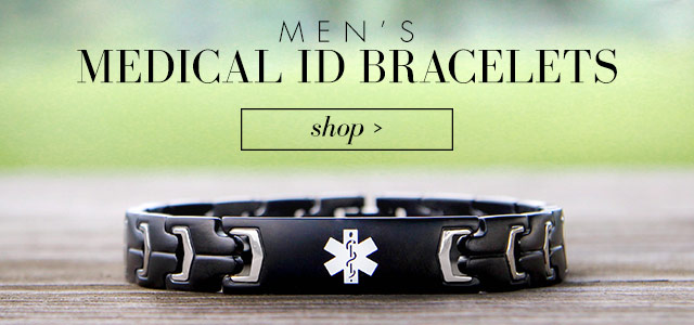 Mens Medical Alert Jewelry