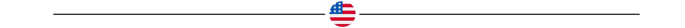 American flag icon with black border