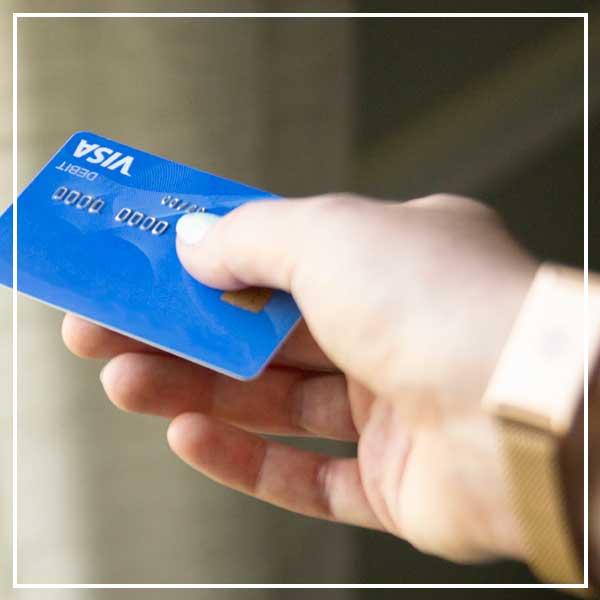 Hand offering HSA/FSA debit card
