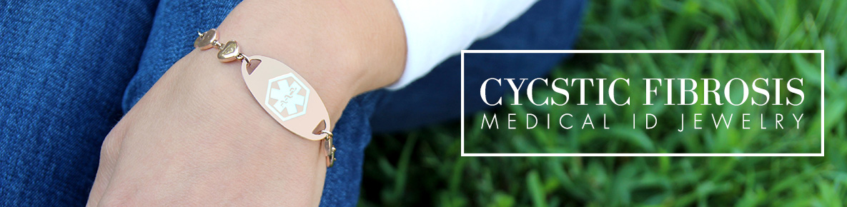 CYSTIC FIBROSIS MEDICAL ID JEWELRY