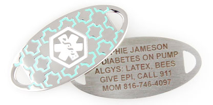 TYPE 1 DIABETES MEDICAL ID JEWELRY
