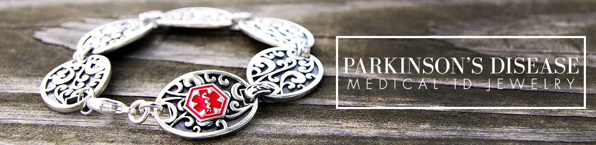 PARKINSON'S DISEASE MEDICAL ID JEWELRY