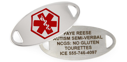 AUTISM MEDICAL ID JEWELRY