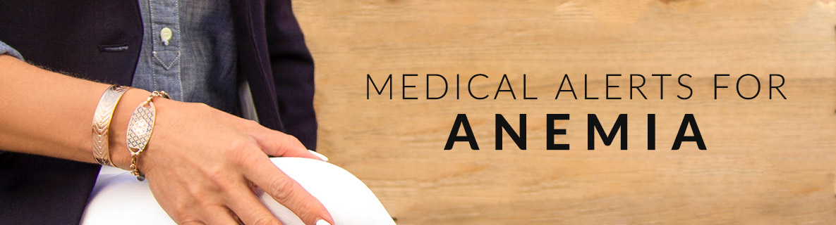Anemia Medical ID Jewelry