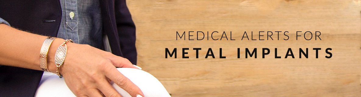 METAL IMPLANT MEDICAL ID JEWELRY