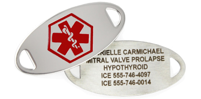 MITRAL VALVE PROLAPSE MEDICAL ID JEWELRY