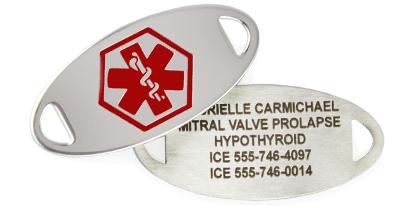 MITRAL VALVE PROLAPSE MEDICAL ID JEWELRY