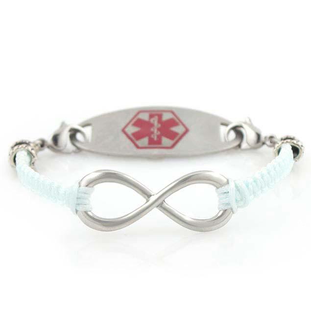 Infinite Beauty Medical ID Bracelet