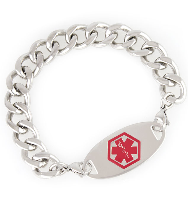 Harley Medical ID Bracelet with Tag