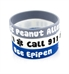 Peanut Allergy/Epipen Gray Silicone Medical Bands
