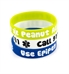 Peanut Allergy/Epipen Lime Silicone Medical Bands
