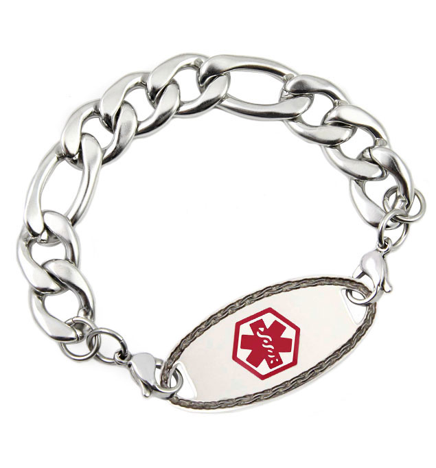 Davidson Medical ID Bracelet With Tag