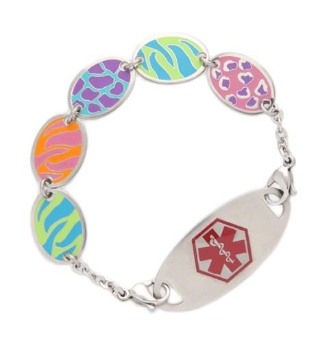 Wild Thing Medical ID Bracelet