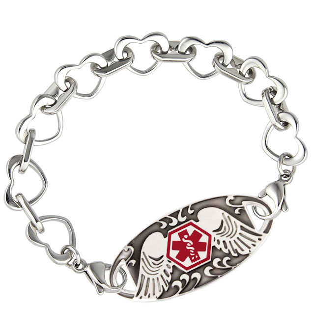 Love Always Stainless Medical ID Bracelet