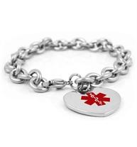 Charming Medical ID Bracelet
