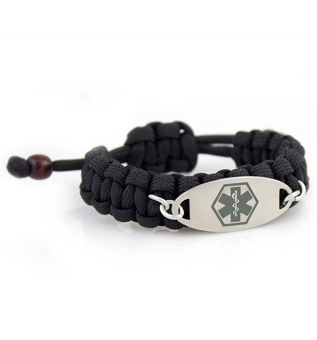 Trooper Paracord Medical ID Bracelet