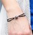 Dark Night Medical Alert Bracelet On Wrist