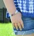 Light Blue ActiveWear Slim Medical ID Bracelet