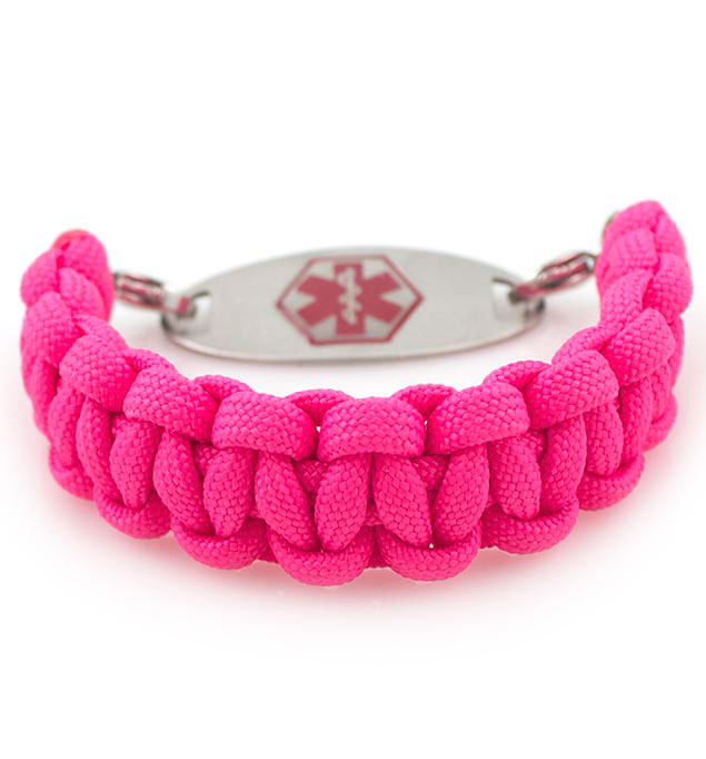 Wilma Interchangeable Paracord Medical Alert Bracelet With Tag