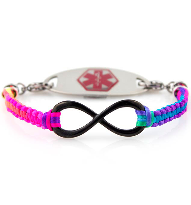 Medical Alert Bracelet For Girls With Tag