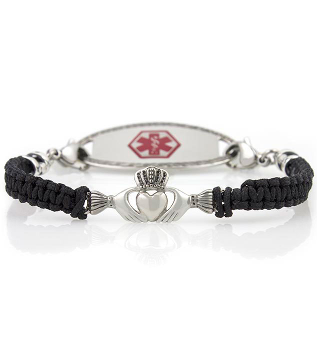 Claddagh Medical ID Bracelet
