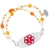 Fire and Ice Medical ID Bracelet with tag