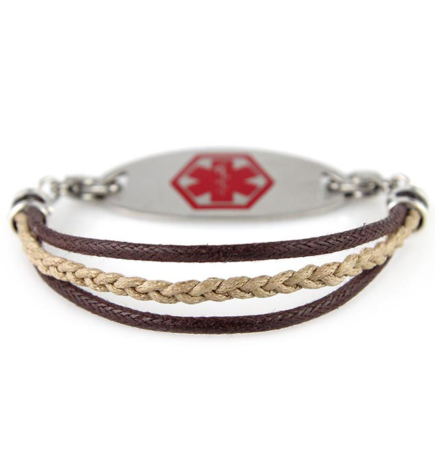Matthew Medical ID Bracelet With Tag