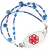 Avery's Hope Medical ID Bracelet with Stainless Red Oval Tag