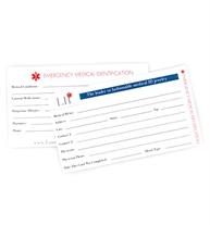 Medical ID Wallet Card