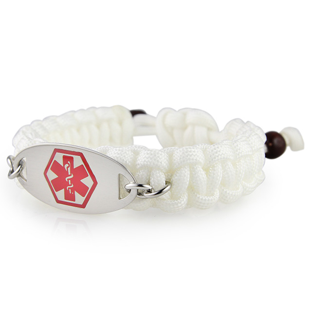 Beach Day Paracord Medical ID Bracelet