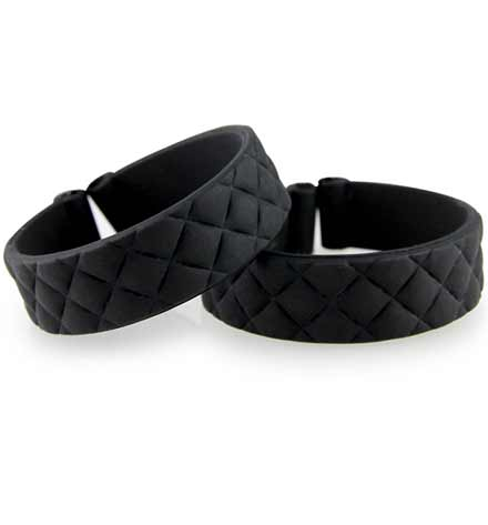 Black Quilted ActiveWear Replacement Bands