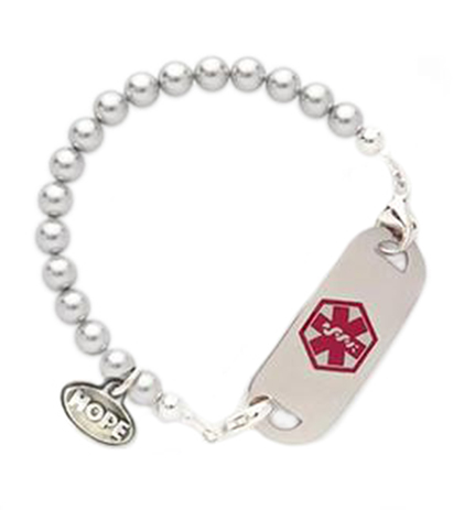 The Marilyn Medical ID Bracelet With Tag