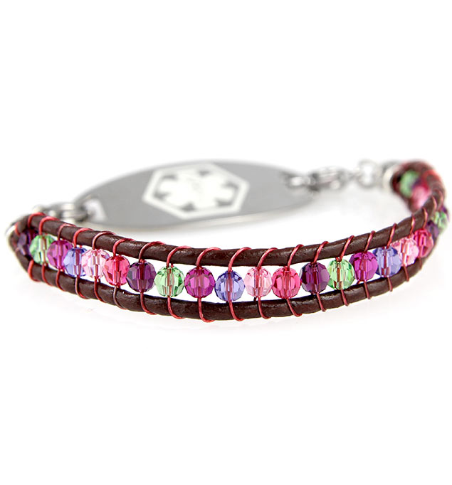 Eye Candy Medical ID Bracelet with Tag