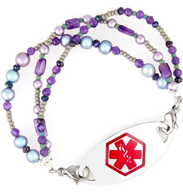 Tahitian Medical ID Bracelet