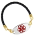Classic Leather Medical ID Bracelet