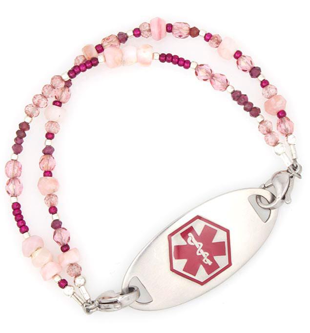 Teaberry Medical Alert Bracelet   Lauren's Hope