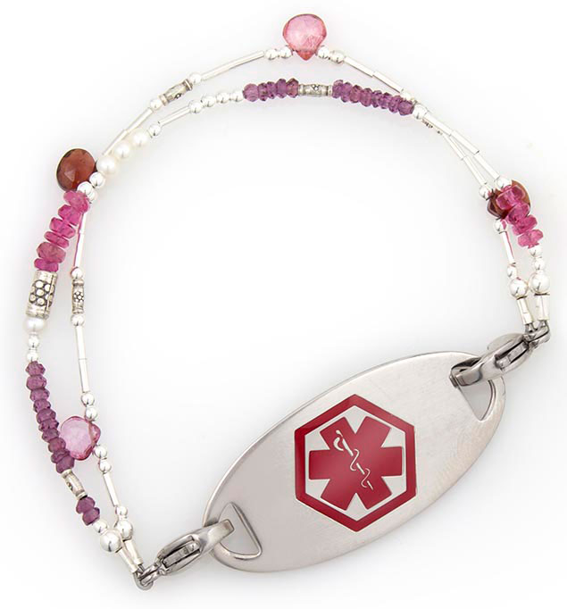Lily Rose Medical ID Bracelet | Lauren's Hope