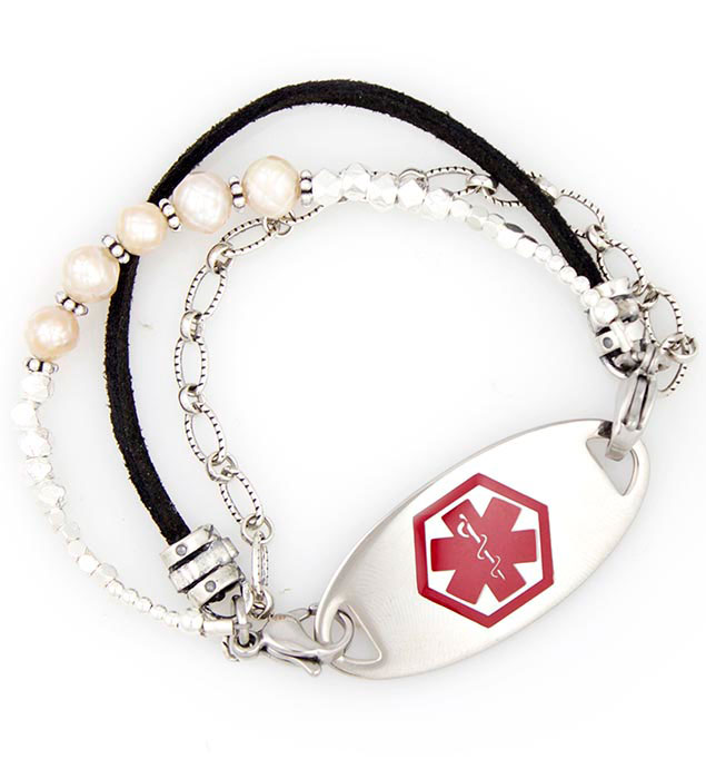 Caroline Medical ID Bracelet with tag