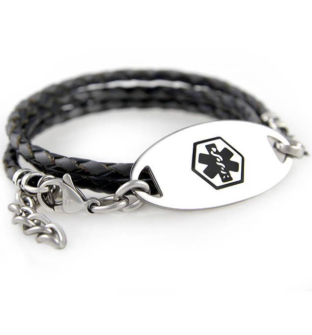 buy detail id personal alert product medical hemophilia bracelet custom