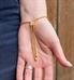 SmartFit Medical ID Bracelet in Gold Tone