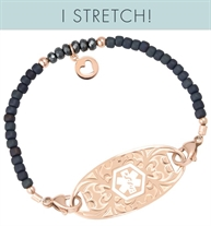 Joy Stretch Medical ID Bracelet