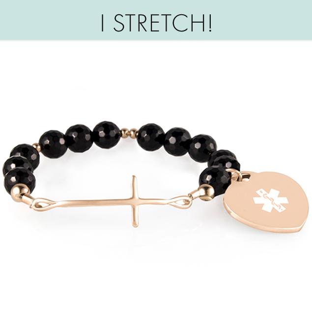 Devon Stretch Medical ID Bracelet