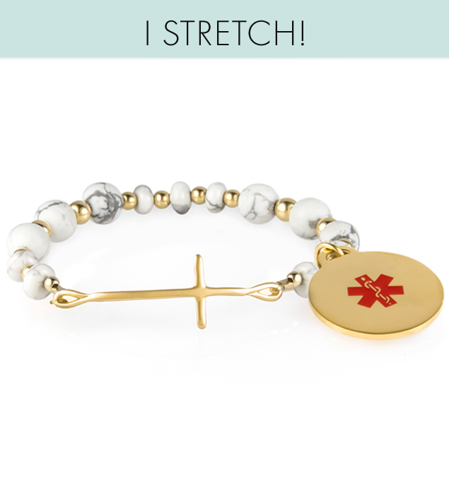Hannah Stretch Medical ID Bracelet
